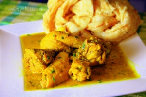 chicken and roti1